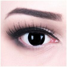 Coloured Contact Lenses Blind Black Contacts Color Carnival + Free Case