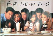 Friends Milkshake Poster   size: 36 x 23 inches  / 89 x 58.5cm  Purchased 1996