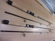 2 SHAKESPEARE UGLY STIK LITE PRO  freshwater 7 foot two piece spinning rods