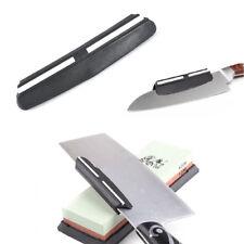 Black Unique Knife Sharpener Best Angle Guide For Stone Grinder Tool Useful