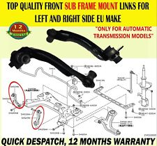 FOR NISSAN NOTE AUTO 2005- FRONT SUBFRAME MOUNT MOUNTING CONTROL ARM ARMS BUSHES