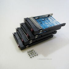 "4 x  2,5"" Hot Swap Tray SATA SAS HDD Caddy Rahmen original HP Proliant G5 G6 G7"
