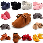 HOT Infant Newborn Baby Girl Soft Sole Boots Toddler Tassel Moccasin Crib Shoes