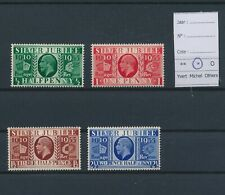 LM94767 Great Britain 1935 silver jubilee king George V fine lot MH