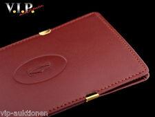 Cartier Must OCCHIALI ASTUCCIO PELLE CUSTODIA F. Occhiali Occhiali da sole Sunglasses Case Pouch
