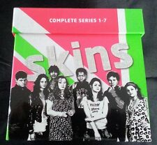 Skins : Complete Series 1-7 Box Set (DVD, 2013) New Free Postage