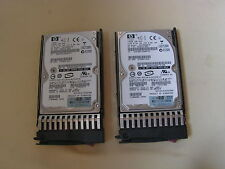 """146GB HP 375863-010 DG146BAAJB 2.5"""" 10K SAS SCSI Hard Drive HPD9"""