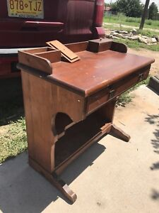 Primitive Captain's Davenport Desk