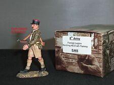 King and country EA65 8TH Ejército legión extranjera marchando NCO con figura de Tommy