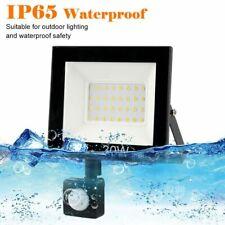 PIR Motion Sensor LED Flood Light 10W 30W 50W Outdoor Waterproof Led Spotlight