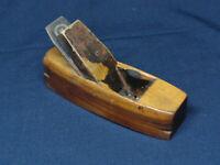 Antique Lignum Vitae Shipwrights Spar or Mast Plane mkd OLSEN Coastal Maine NICE