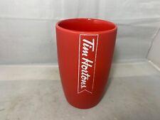 Tim Hortons Red Mug Matte Finish 2016