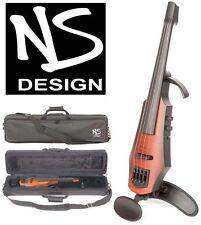 NS Design NXT-4 Electric 4-String Violin, Amber Burst