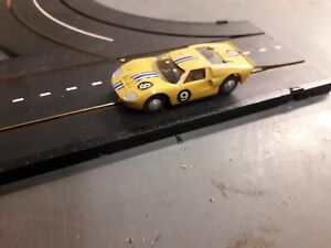 Working track tested minic motorway Ford racing car ,new brushes fitted