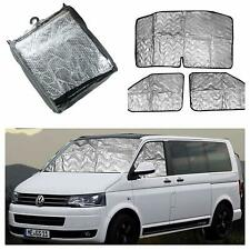 VW T5 Internal Thermal Blinds Campervan Insulated Curtains Cab Shades Drapes New
