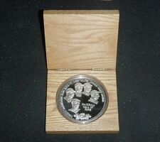 MATHEWSON, RUTH, COBB, JOHNSON, WAGNER, 1 TROY POUND COIN .999 SILVER ROUND