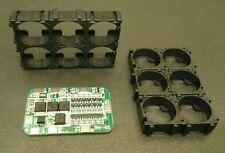6S 15A BMS PCB Board für 18650 Akkus Batterien inkl. Batteriehalter
