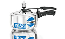 Hawkins Stainless Steel 1.5 Ltr Pressure Cooker Induction Friendly HSS15