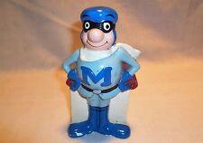 Vintage Rainier Bank Piggy Bank - Super Hero M Man