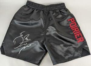 """Dustin Poirier """"The Diamond"""" Signed UFC Fighting Trunks PSA/DNA ITP COA"""