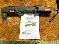 Drill Master Harbor Freight 18v 3/8 In. Right Angle Drill 67043 Manual Tool Only