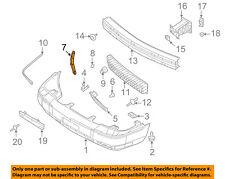 Mercury FORD OEM 07-11 Grand Marquis Front Bumper-Mount Bracket Left 3W3Z16019AB