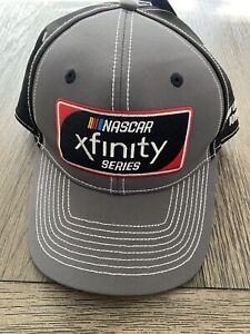 NASCAR Xfinity Series Hat Iowa 2018 Comcast Fanatics New with Tags Gray/Black