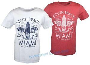 Solid Men T-Shirt Buzz South Beach Miami Herren NEU