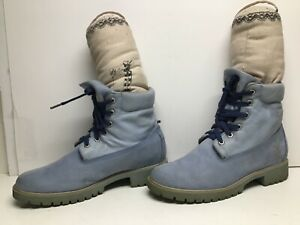 VTG WOMENS TIMBERLAND CASUAL SUEDE TILE BOOTS SIZE 11 M