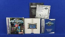 Gameboy Advance METROID FUSION +z BOXED & COMPLETE GBA PAL UK