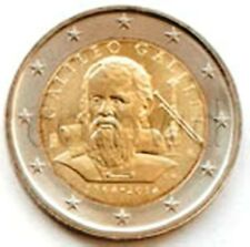 Italy 2 euro 2014 Galileo Galilei UNC (#1080)