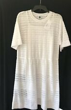 NWT MISSONI White Knit Dress Sz L