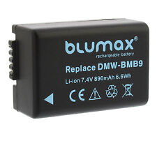 Akku für Panasonic DMW-BMB9 (E) | 65121 | DMC-FZ100 FZ150 FZ40 FZ45 FZ47 FZ48