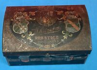 Vintage WHITMAN'S Prestige Chocolate Candy Tin Advertising Shields Queen Lions
