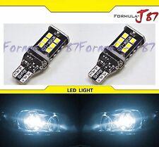 LED Light Canbus Error Free 912 White 6000K Two Bulbs Back Up Reverse 3rd Brake