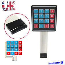 Preptec 16 4x4 key switch Membrane Matrix KeyPad Arduino keyboard RPI, PIC, AVR