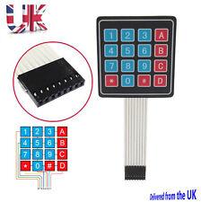 preptec 16 4x4 Llave Membrana Matrix Teclado Arduino Teclado Rpi , Pic, AVR