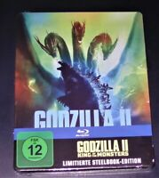 Godzilla II Rey Of The Monstruos Limiiterte steelbook Edición blu ray Nuevo &