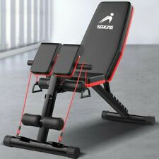 FlyBird Adjustable Weight Bench Incline Decline Foldable Workout Full Body *Gym*