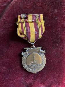 WW2 DUNKIRK VETERANS MEDAL FRENCH ISSUE A 100% GENUINE ORIGINAL MEDAL