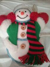 Festive *Snowman* Fiber Optic Windown Accent Decor Avon Seasonal Home New Boxed