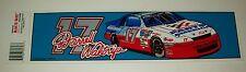 Darrell Waltrip 1997 Western Auto Parts America Bumper Sticker Vintage NOS New