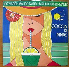 NARDI MAURO NINO D'ANGELO GOCCIA DI MARE E MANNAMOR ANCORA  LP SEALED 1988