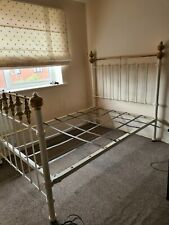 More details for vintage cast iron double bed frame