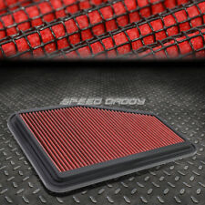 FOR 14-17 CHEVY CAPRICE/SS RED REUSABLE/WASHABLE DROP IN AIR FILTER PANEL