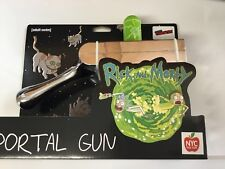 NEW 2017 Nycc Comic Con Exclusive UCC RICK AND MORTY PORTAL GUN Chrome