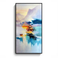 Porch Abstract Art Wall Painting Frameless Printing Hanging Picture Home De HJM