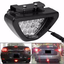 New Car Rear Tail Brake Stop Light Taillight Red Strobe Fog DRL Flash 12LED Lamp