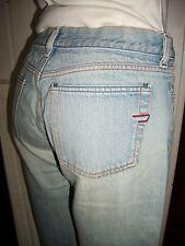 Pantalon jean bleu clair délavé DIESEL w28 38FR bootcut bas évasé 16VP2