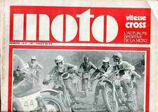 HEBDOMADAIRE MOTO VITESSE CROSS N°10. 1970.
